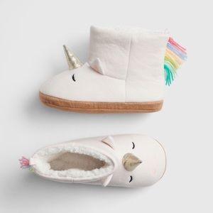 GAP Kids Unicorn Slipper Booties